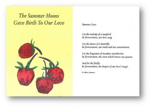 The Summer Moons Gave Birth To Our Love