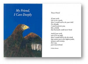 My Friend, I Care Deeply