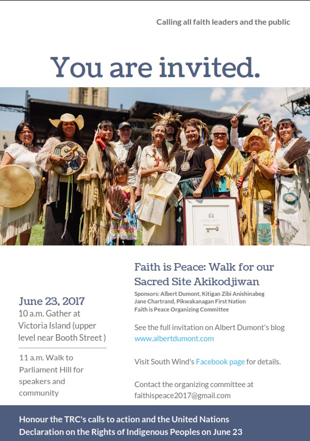 Faith Is Peace June 23 Invitation-Poster