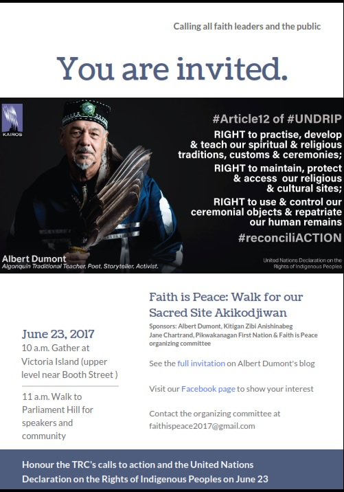 Faith Is Peace June 23_Invitation-Poster