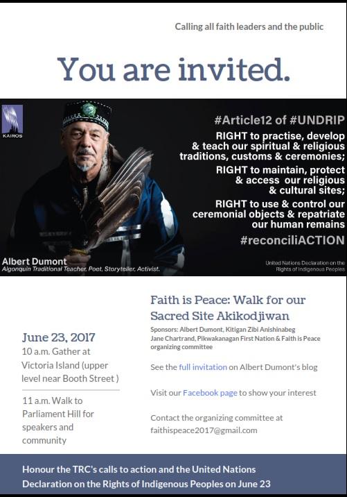 Faith Is Peace June 23_Invitation-Poster