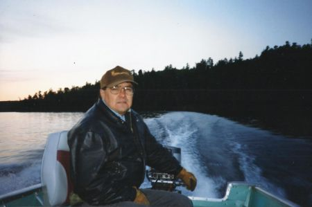 Chief Harry St. Denis in 1998